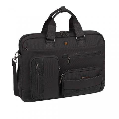 Geanta servieta/ de umar business casual colectia Process, laptop 15.6 inch art 409811